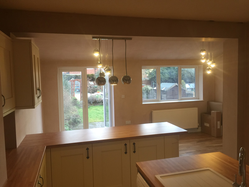 Kitchen Extension and Installation