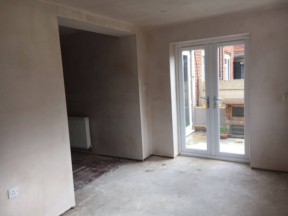 Two storey rear extension